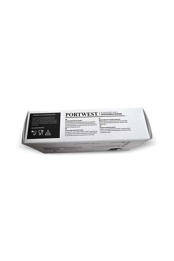 Portwest A900 vinyl kesztyű - 100 db - Vinyl kesztyű - 100 db - XL