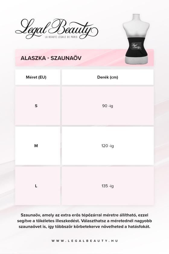 Alaszka - Szaunaöv - Éjfekete - M