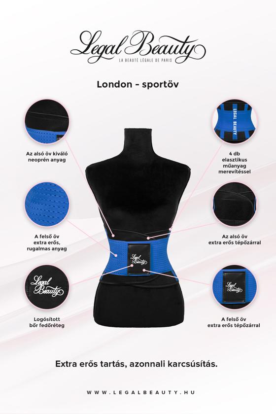 London - Sportöv - Égszínkék - S