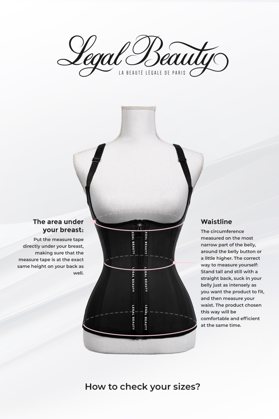 Paris long torso - Waist Trainer - Toffee cream - XXS