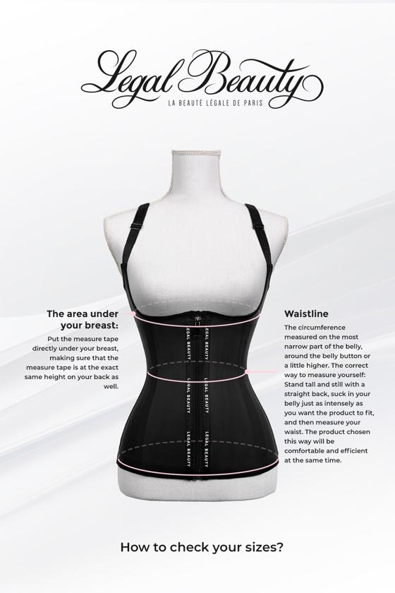 New York - Zipper Waist Trainer Vest - Toffee cream - XXS