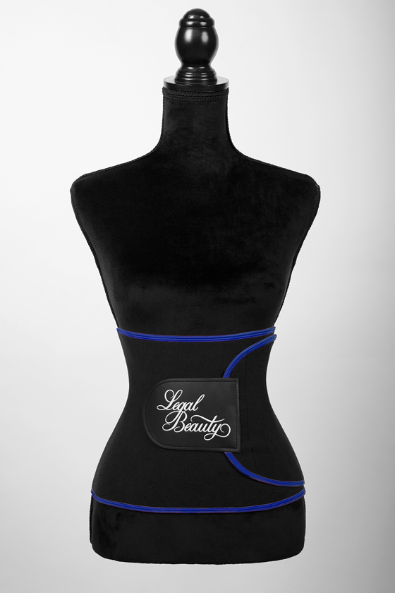 Alaska - Sauna belt - Admiral blue border - L