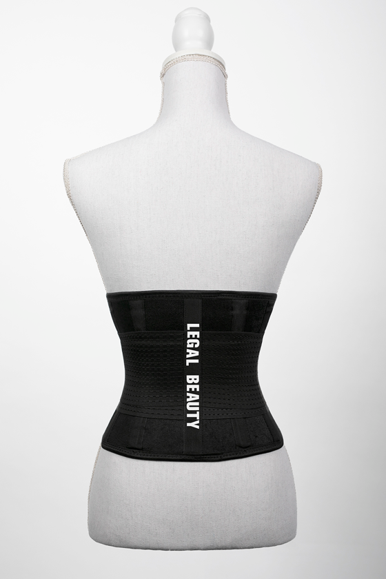 London - Sports Belt with Extra Waistband - Jet black - S