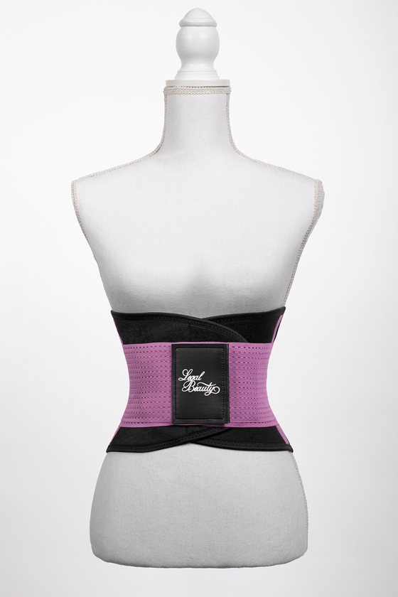 London - Sports Belt with Extra Waistband - Lavender Lilac - S
