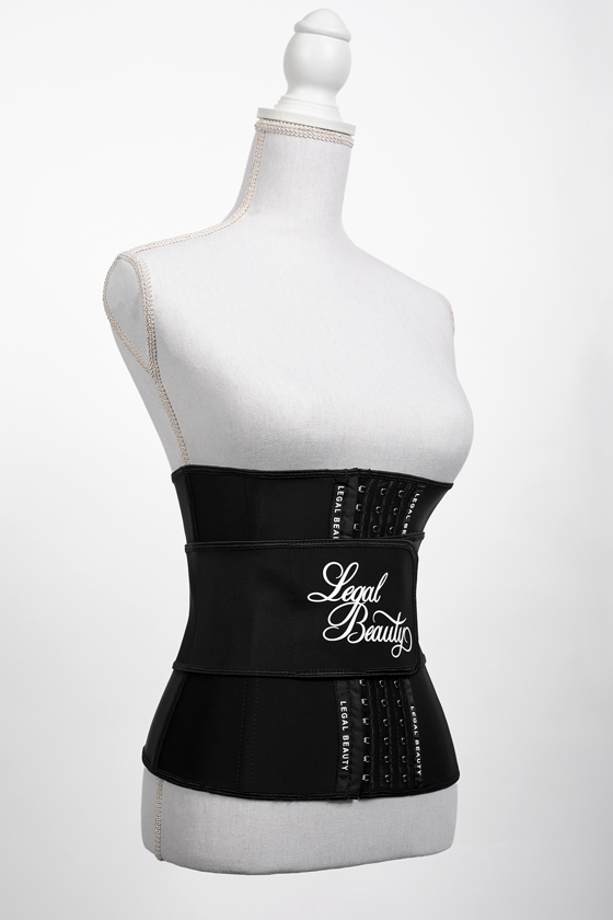 Los Angeles - Waist Trainer with Waistband - Jet black - XXS