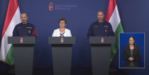 Az Operatív Törzs sajtótájékoztatója (2020. június 5.) - Videó