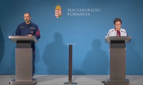 Az Operatív Törzs sajtótájékoztatója (2020. november 19.) - Videó