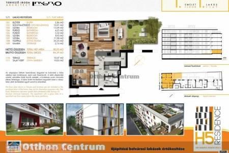 Eladó  lakás Budapest VIII. ker, 58.990.000 Ft, 81 négyzetméter