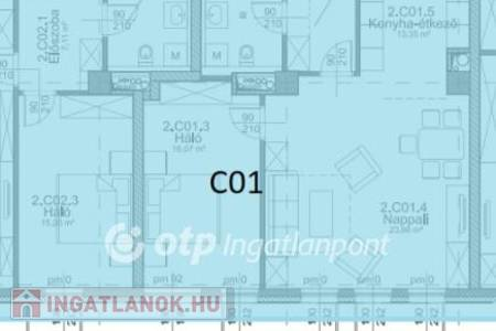 Eladó  lakás Budapest IX. ker, 52.931.340 Ft, 68 négyzetméter