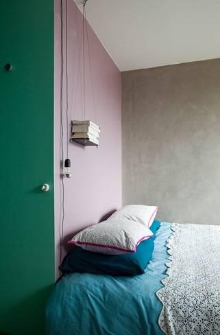 Többféle színt is felhasználhatunk egy helyiségben