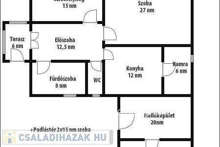 Eladó  családi ház Békéscsaba, 15.900.000 Ft, 120 négyzetméter