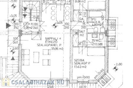 Eladó  családi ház Budapest II. ker, 130.000.000 Ft, 230 négyzetméter