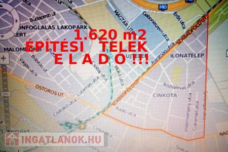 Eladó  telek/földterület Budapest XVI. ker, 36.000.000 Ft, 1.620 m<sup>2</sup>