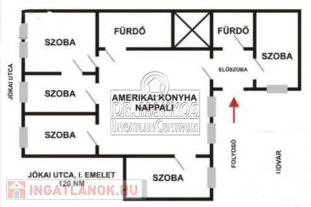 Eladó  lakás Budapest VI. ker, 72.500.000 Ft, 120 négyzetméter