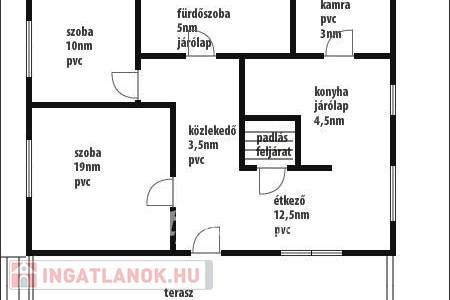 Eladó  ház Egyházasgerge, 5.200.000 Ft, 60 négyzetméter