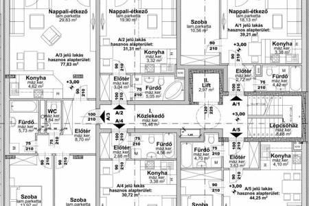 Eladó  lakás Budapest XIII. ker, Angyalföld, 32.000.000 Ft, 44 négyzetméter