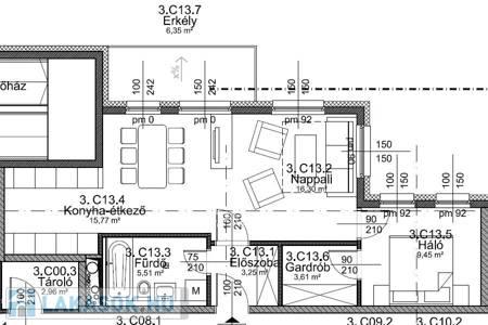 Eladó  lakás Budapest IX. ker, 46.736.235 Ft, 60 négyzetméter