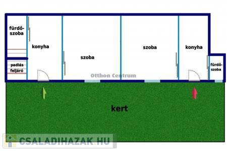 Eladó  családi ház Budapest XX. ker, 19.200.000 Ft, 52 négyzetméter