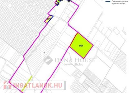 Eladó  telek/földterület Dunaharaszti, 33.850.000 Ft, 5.643 m<sup>2</sup>