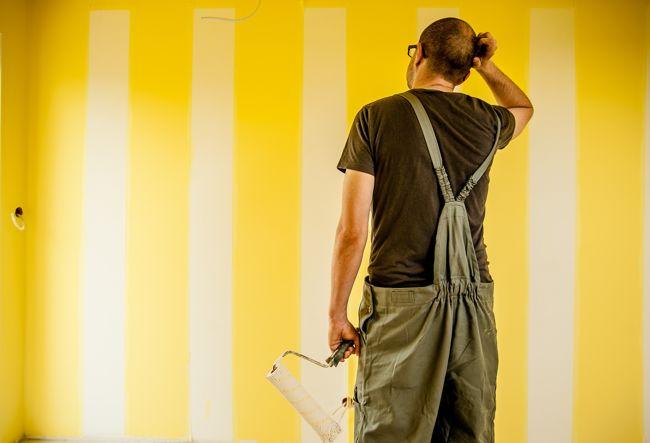 A fal színét könnyen megváltoztathatjuk