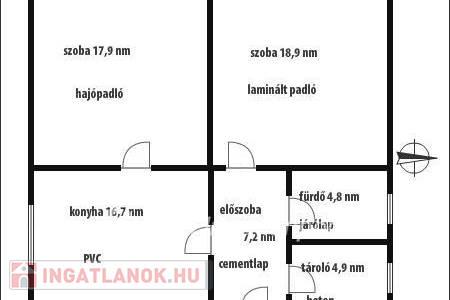 Eladó  ház Karancsalja, 6.450.000 Ft, 70 négyzetméter