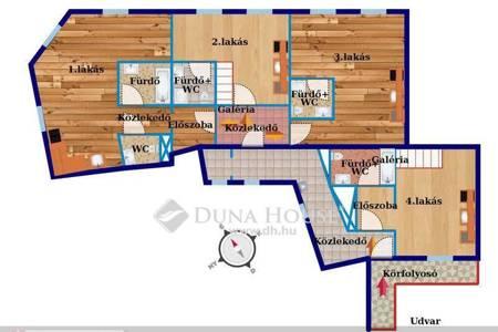 Eladó  lakás Budapest VII. ker, 66.000.000 Ft, 110 négyzetméter