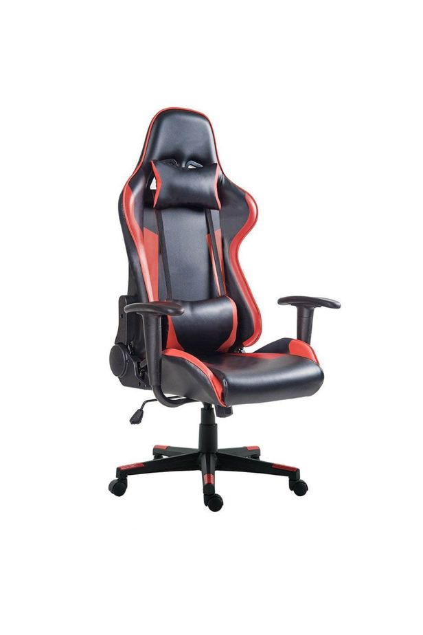 Gamer szék PRO, 3 szín - Piros