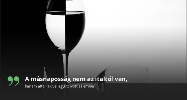 A másnaposság nem az italtól van,